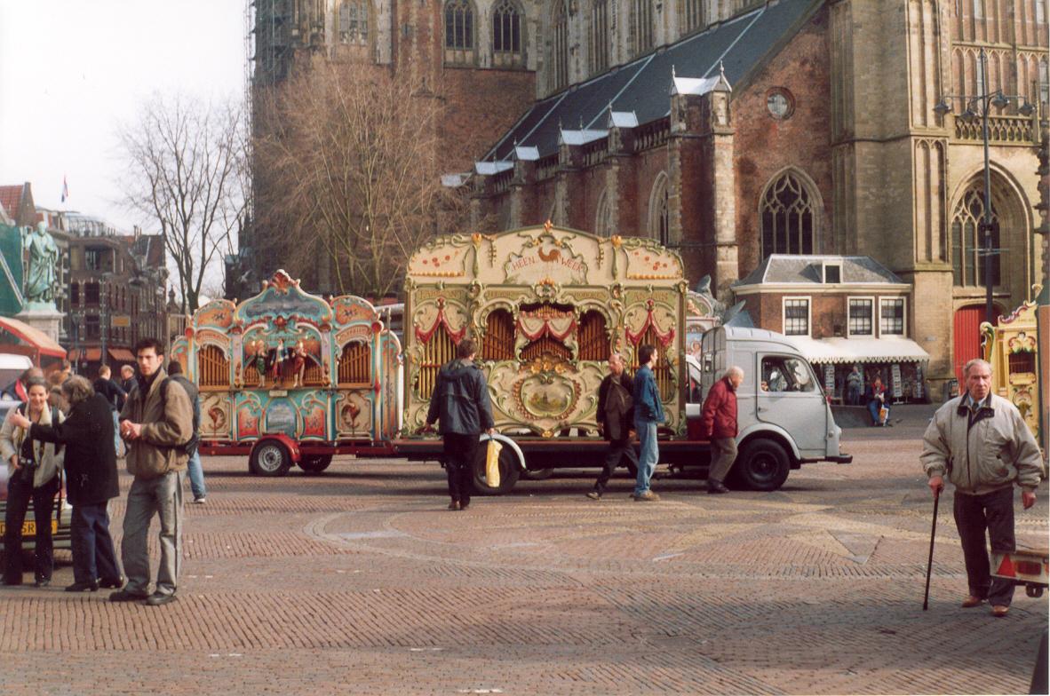 Heen&Weer tijdens de protestmanifestatie in Haarlem